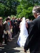 špalír pro nevěstu