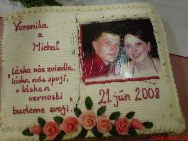 Veronika Hubová{{_AND_}}Michal Hlad - jedna z našich tort