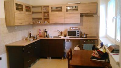 moja nova kuchyna- drevona