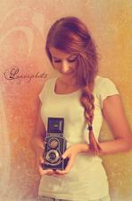 naše úžasná fotografka :-)