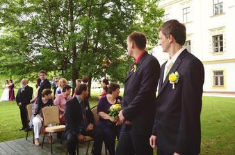 utajená nevěsta ... stálo to za to :-)