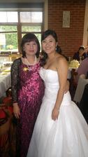 fotka od družičky - s mamuškou :-*