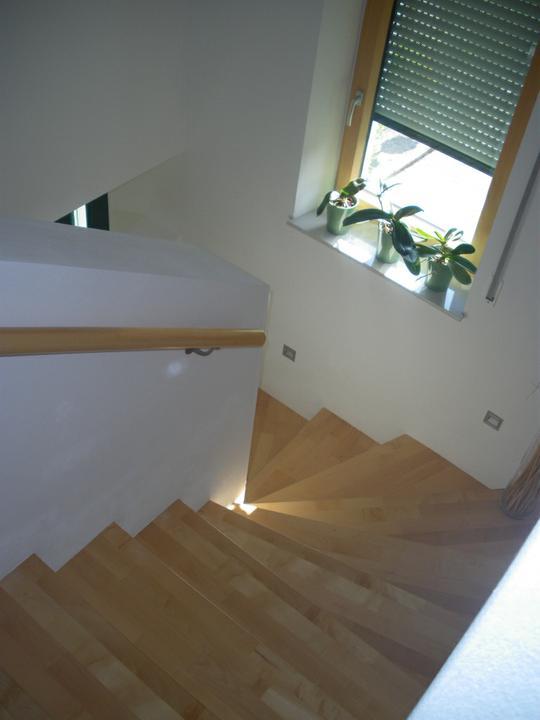 "Nas ""Traumhaus"" - fotky schodiska pre MAJKAH-U"