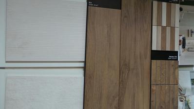 První nástřel - dekor dřeva + imitace betonu ... podlaha zamítnuta