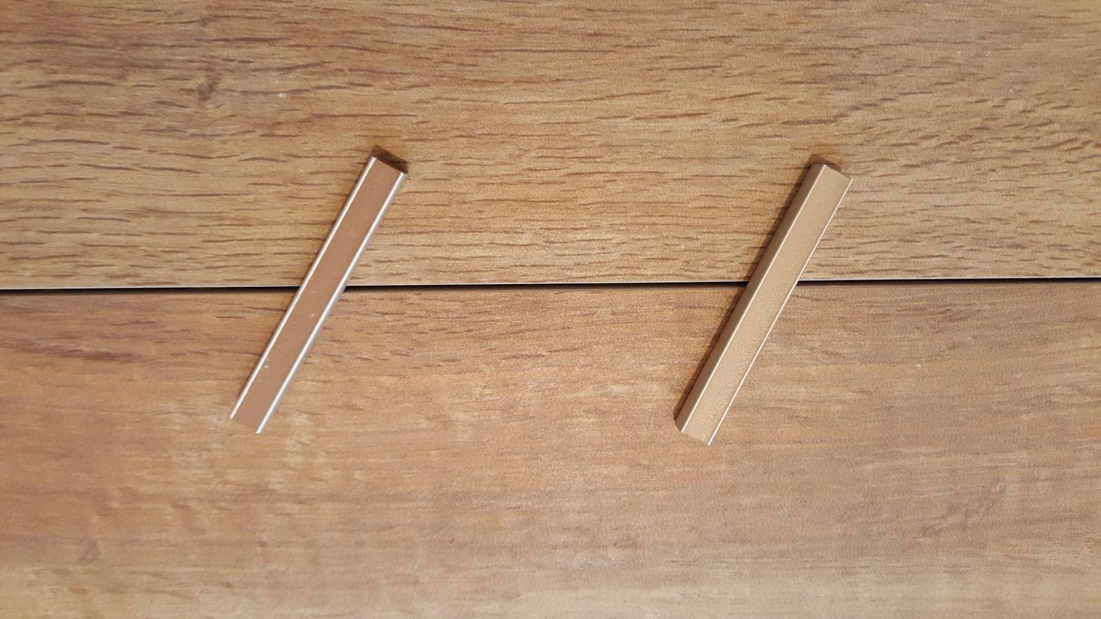 VÝBĚR SPÁROVAČKY ... prosím, kterou byste mi doporučili spárovačku ... v úzkém výběru máme dvě, ladí obě, jen jedna je světlejší a druhá tmavší než dlažba ... (konkrétně jde o Marazzi Larice a spárovačky Mapei Karamel a Ceresit Toffi) ... neumím se rozhodnout ... DĚKUJI :-) - Obrázek č. 2