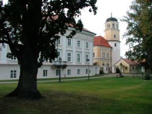 Vlašimský zámek-krásné místo
