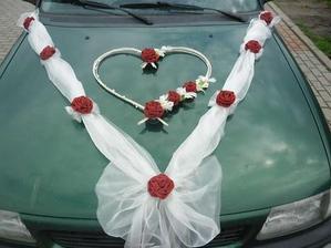 na mé auto, jen bez těch růží na organze