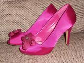 cyklamenové topánočky - znížená cena, 36