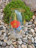 Váza-motiv LUČNÍ KVÍTÍ- 1.republika,