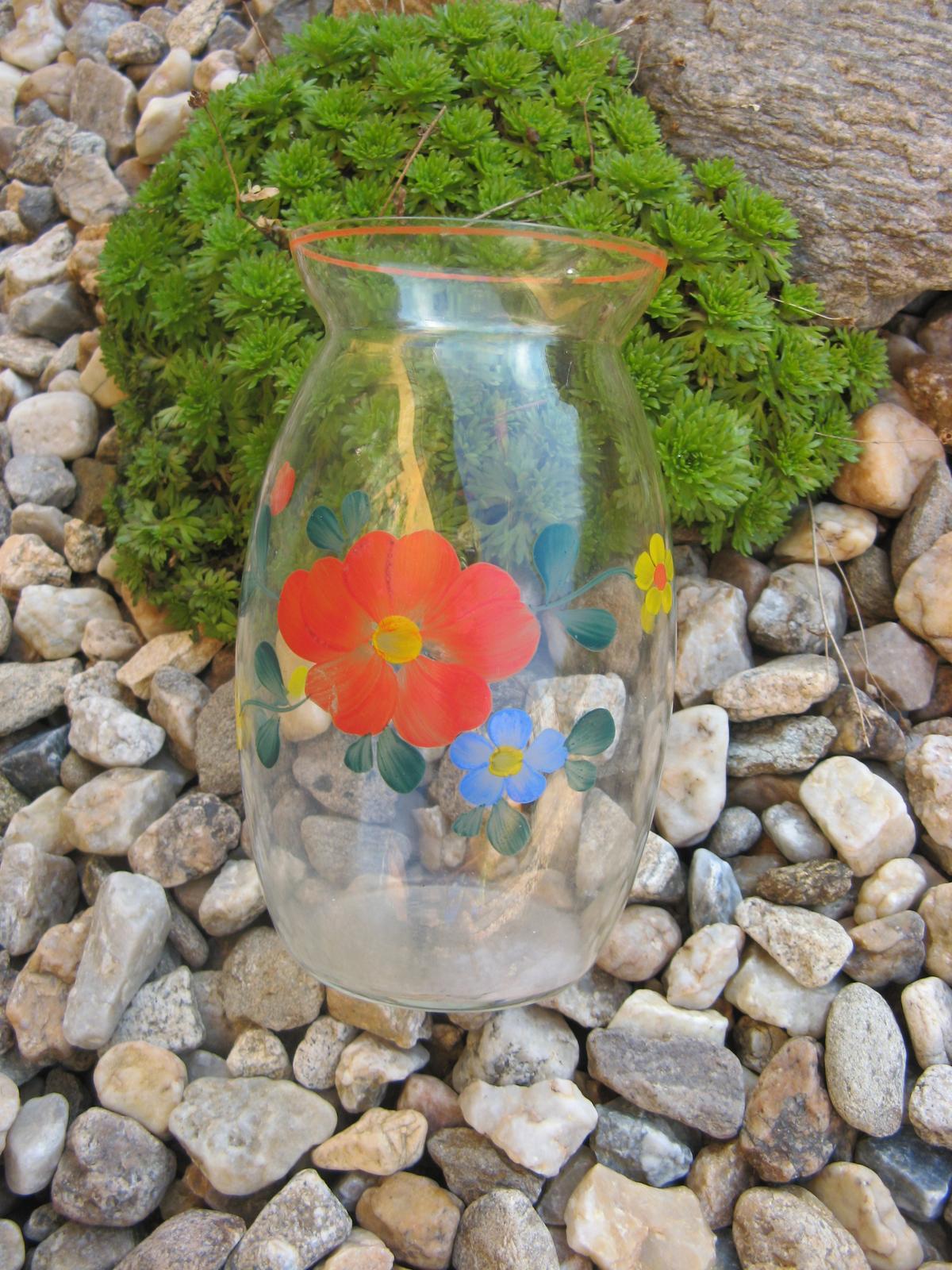 Malovaná váz-luční květy-rok 1918 - Obrázek č. 1