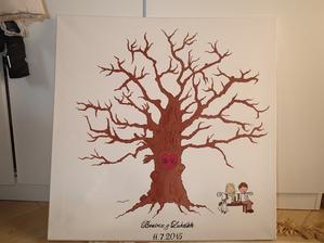 náš svadobný strom skoro hotový :)