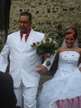 tady už novomanželé