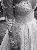 Luxuxsné svadobné šaty - Jitka Klett, 36