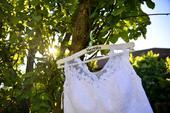 Krajkové svatební šaty zn.Madora , 42