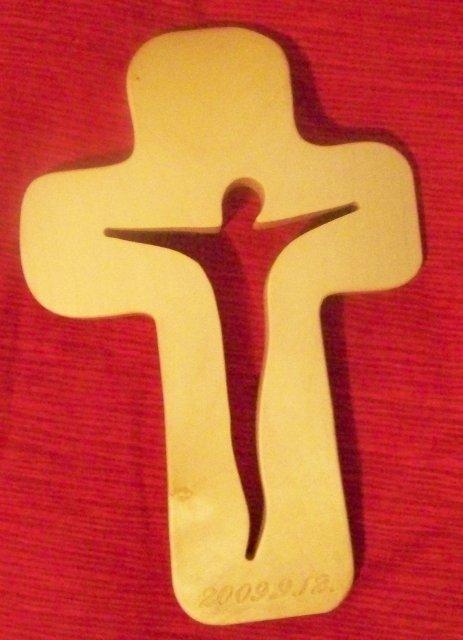 12.9.2009 - náš prekrásny kríž - už ho máme doma