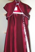 moje prekrásne popolnočné šaty :)