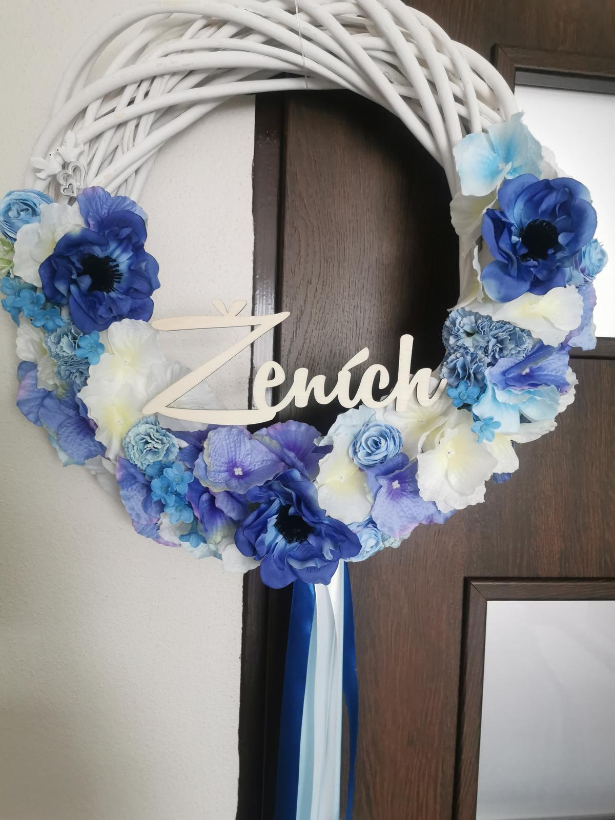 Venčeky na dvere pre ženícha  - Obrázok č. 1