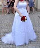 Svatební šaty velikost 42-44, 42