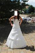 Svatební šaty - model Saša, 38