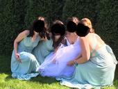 Šaty pro družičku nebo nevěstu na večer, 38