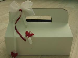 zkouška na krabičce
