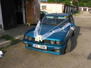 Moje autí......ale jinak je to Ráďovo mazlík:o))))) jenom mi ho půjčí