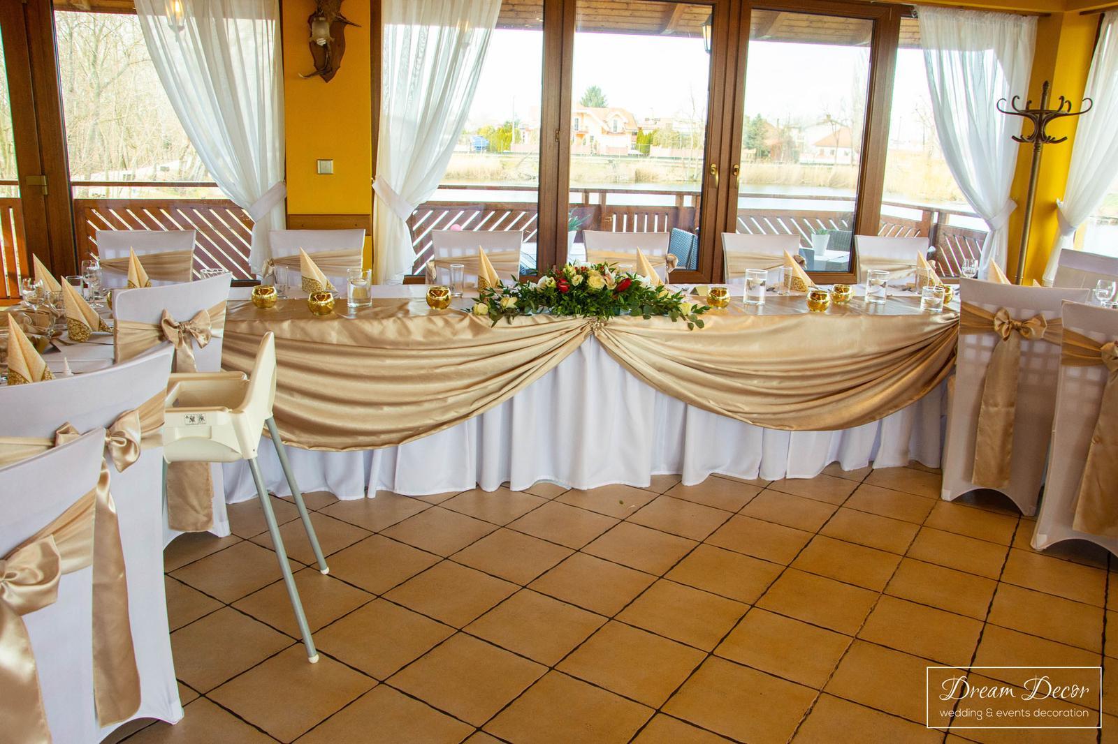 Svadobná výzdoba reštaurácie Pekidors, Michal na Ostrove - Svadobná výzdoba reštaurácie Pekidors, Michal na Ostrove