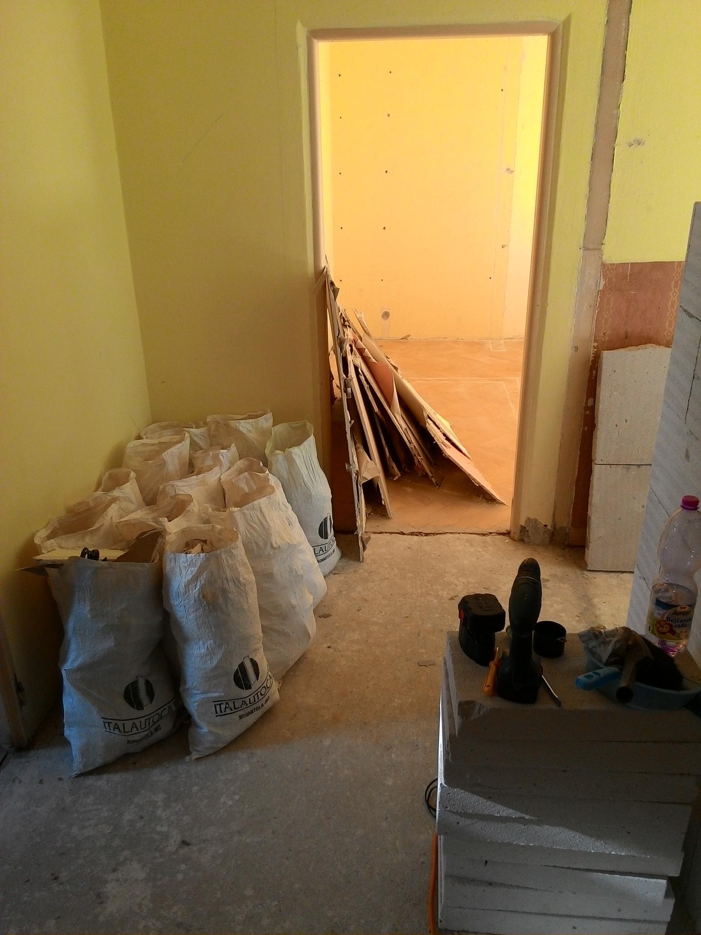 Kompletná rekonštrukcia bytu - Obrázok č. 23