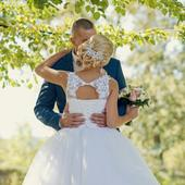 Svadobné šaty (veľkosť 34-36), 36