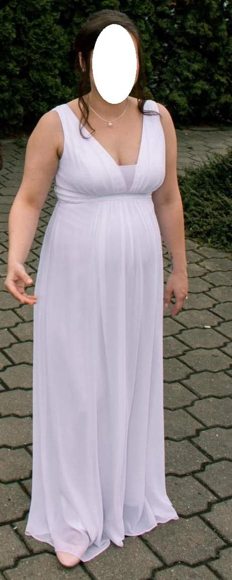 Jednoduché svatební šaty a šál - Obrázek č. 1