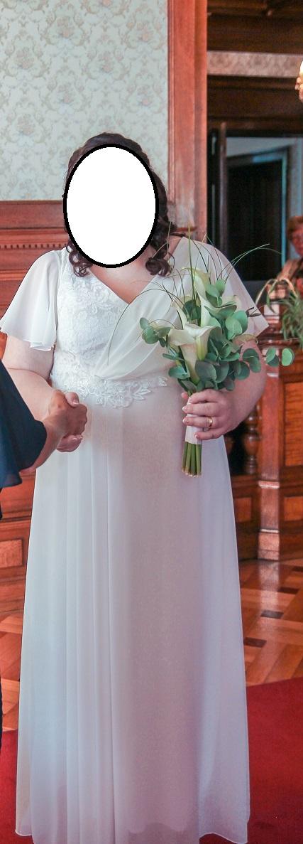 Svatební šaty větší velikosti - Obrázek č. 1