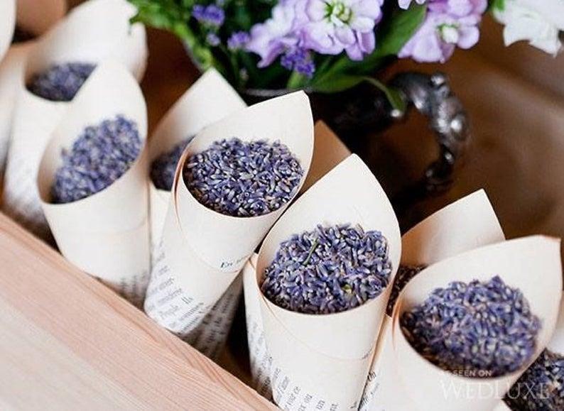 Květiny a výzdoba - Místo rýže pytlík levandule <3