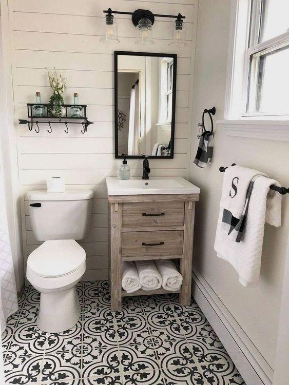 Naša rustikálna kúpeľňa
