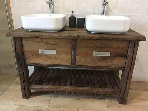 Naša rustikálna kúpeľňa - Konečný vyber ale len s 1 umyvadlom