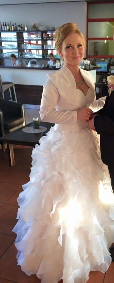 Svadobné šaty 36-40 - Obrázok č. 3