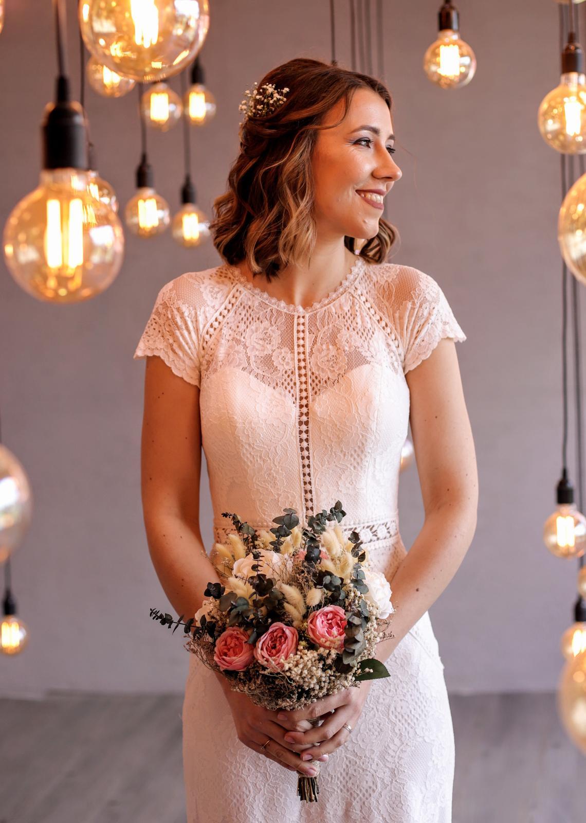 Svatební šaty boho style - Obrázek č. 1