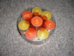 svíčky nesmí chybět-ještě koupit nějaké kalíšky