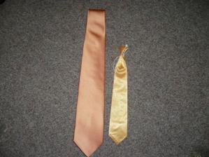 kravaty už jsou doma,pro ty moje dva chlapy....