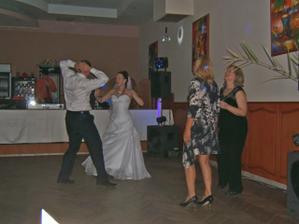 nevesta tancovala odušu :-)