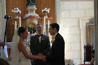 svatebni slib v kapli