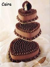 krásný dortík - nakonec bude jen jedno patro z něj