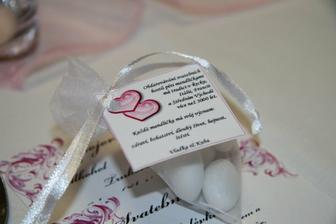 mandličky pro svatební hosty