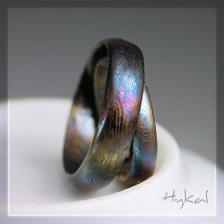 nádherné ocelové snubáky od Hynka Kalisty