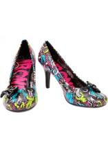 mooc pěkné boty, škoda že nejsou kožené (Iron Fist Bloody Mess Heel)