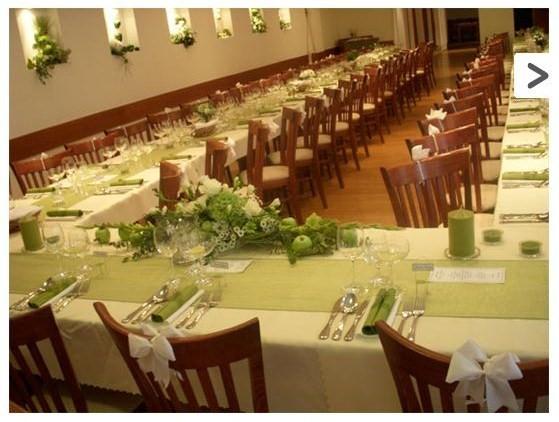 Bude svadba :) - Smotanovo-zelené nastieranie