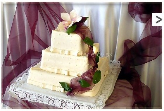 Bude svadba :) - Tortaaa