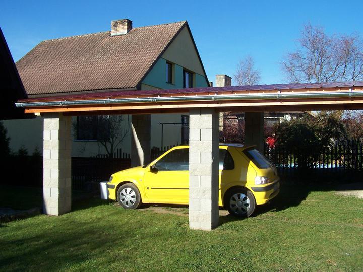 Přístřešek - prodloužení garážového stání - Obrázek č. 38