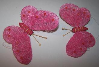 Motýlci k ozdobě na auto
