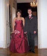 Novomanželé Maturovi... Vždy s úsměvem ;o)