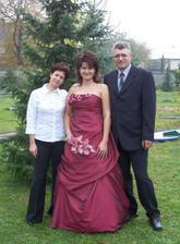 S mými rodiči... Ti si toho se mnou v životě  už užili...